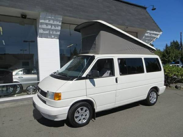 1993 vw eurovan camper 5 speed manual for sale in tacoma washington. Black Bedroom Furniture Sets. Home Design Ideas