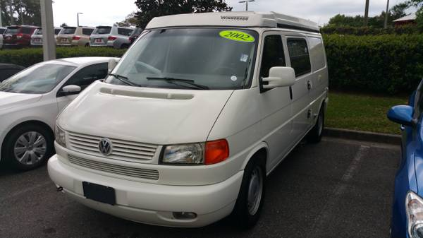 2002 VW Eurovan Camper 6 cylinders For Sale in St ...