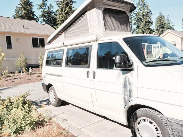 1995 VW Eurovan Camper V5 Auto For Sale in Whidbey Island ...
