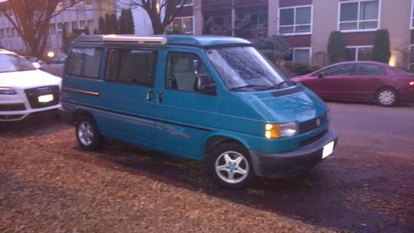 1995 Vw Eurovan Camper V5 5speed For Sale In Vancouver