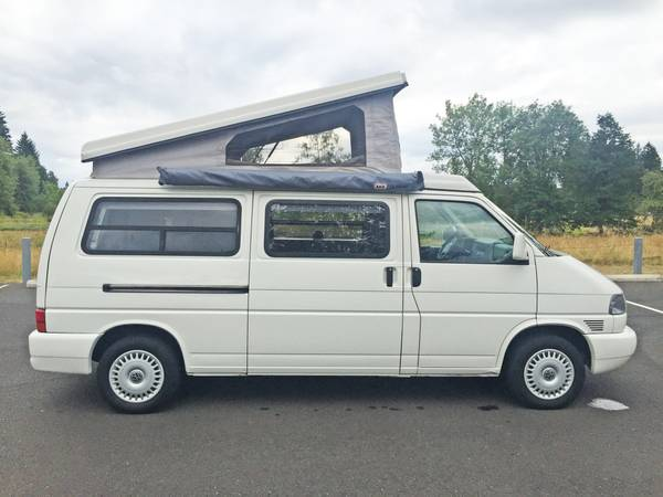 1997 vw eurovan camper winnebago vr6 for sale in vancouver washington. Black Bedroom Furniture Sets. Home Design Ideas
