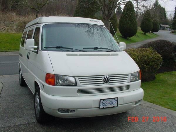 2003 VW Eurovan Camper V6 Auto For Sale in Blaine, Washington