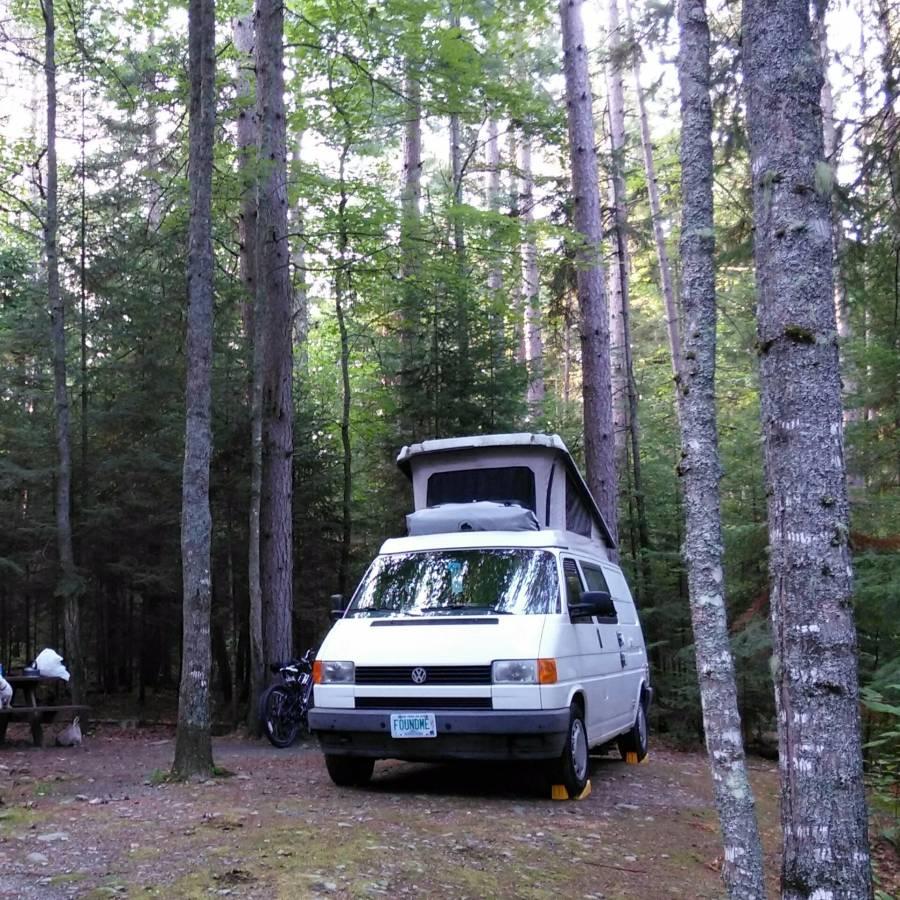 1993 VW Eurovan Camper Salvage Auto For Sale in Harrisonburg