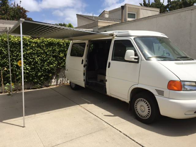 1999 vw eurovan camper automatic for sale in laguna niguel california. Black Bedroom Furniture Sets. Home Design Ideas