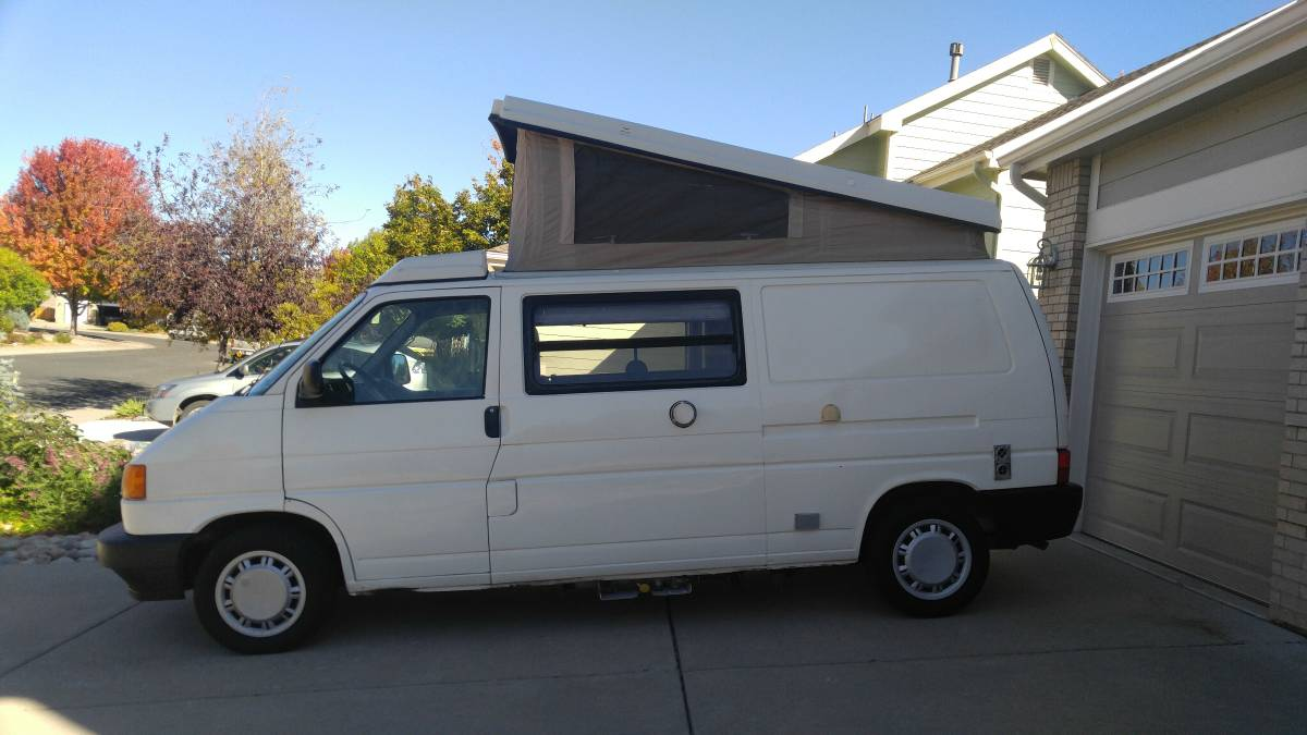 1995 vw eurovan camper winnebago auto for sale in loveland colorado. Black Bedroom Furniture Sets. Home Design Ideas