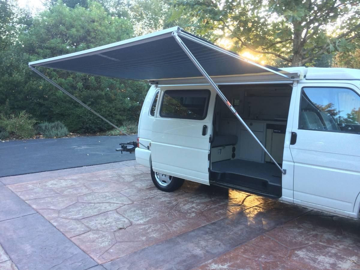 2001 vw eurovan winnebago camper vr6 auto for sale in templeton ca. Black Bedroom Furniture Sets. Home Design Ideas